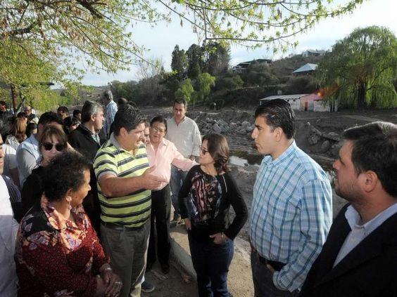 La Gobernadora de Catamarca, Lucia Corpacci visitó el Departamento Paclín, para…