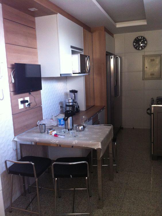 Cozinha - Apartamento Residencial Condomínio Ed. Palazzo Fiorentino