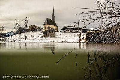 A pic a day -  sometimes two.: Einsiedl über und unter Eiswasser