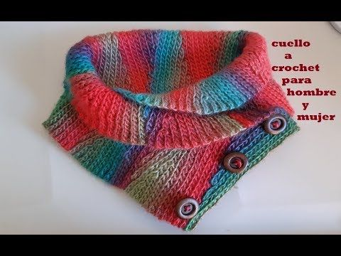 mejor selección 4bd04 b6561 Cuello a crochet - paso a paso - tutorial a ganchillo ...