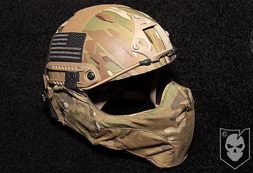 Yo quiero Air soft helmet. ¡Cuesta cincuenta y cinco dólares.