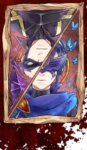 Fire Emblem: Awakening - Gerome and Lucina