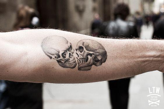 calaveras tatuaje: