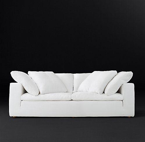 Rh Modern S Cloud Fabric Sofa Cushions On Sofa Sofa Modern Couch