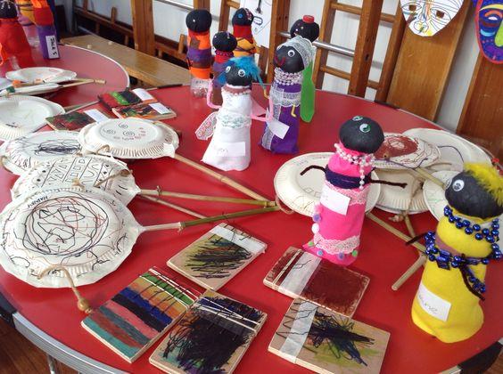 Zambia art and craft week  Children's work 13.03.15