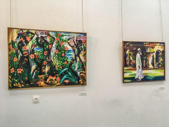 Яркие краски работ Израила Гершбурга. Фото Жени Шведы