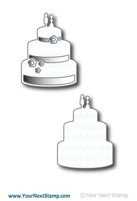 Wedding Cake Stack Die Set