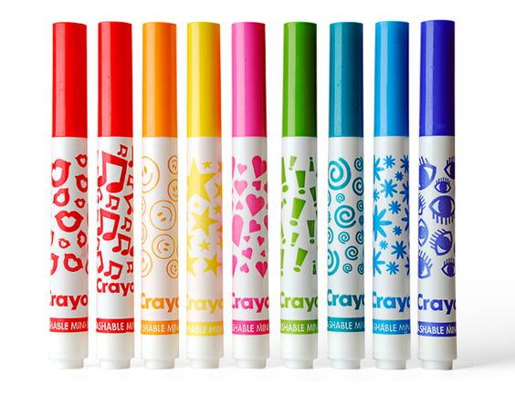 Crayola Mini Stampers!