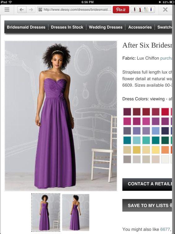 My Purple Wedding
