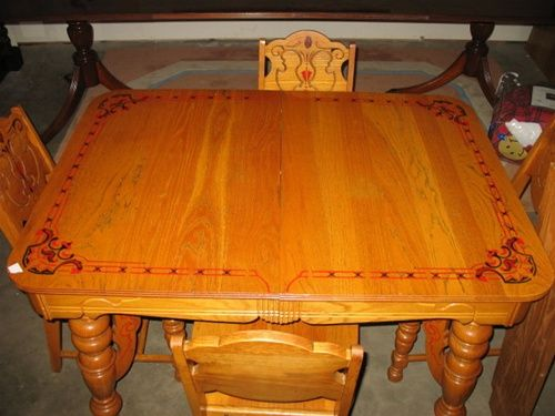 fe8ff0fea4c7690623388528539267c9 oak dining sets pennsylvania dutch