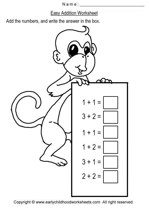 Image detail for To print this worksheet click Addition up to 10 – Addition Worksheets Up to 10