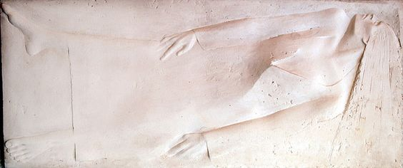 Relieve recordatorio. A phantastic relief of  Raul Caamaño - Buenos Aires, Argentinien