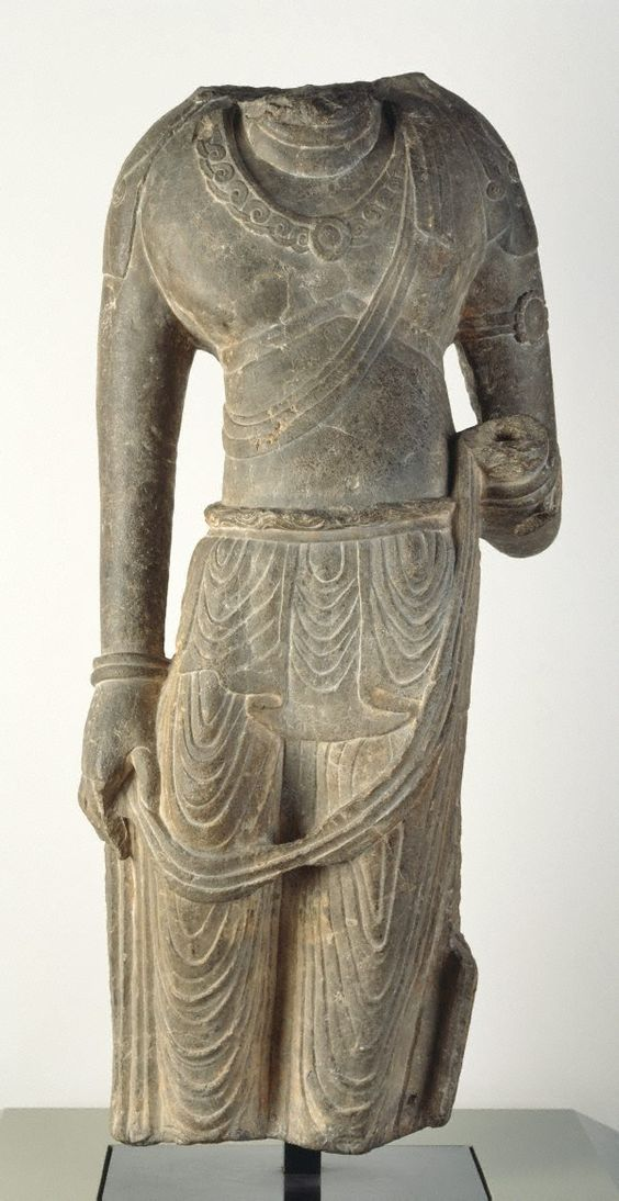 Fiure of a Bodhisattva, Tang dynasty, China, 8th century