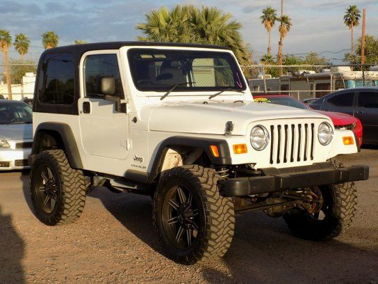 Sport Utility 2004 Jeep Wrangler Sport With 2 Door In Phoenix Az 85009 2004 Jeep Wrangler Jeep Wrangler Sport Jeep Wrangler