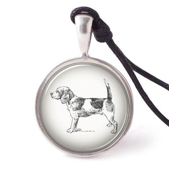 vietguild English Bulldog 6 Necklace Pendants Pewter Silver