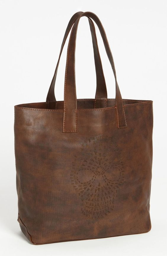 'Skull' Leather Tote from Frye - CRUSHING & OBSESSING!!