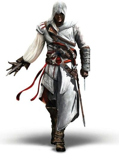Ezio and Altair! Gah, I'm such a nerd