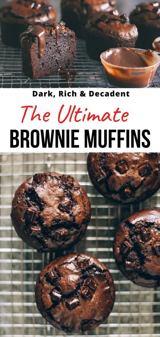 Ultimate Brownie Muffins - Pretty. Simple. Sweet.