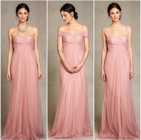 Bridesmaid dress different necklines for Different necklines for wedding dresses