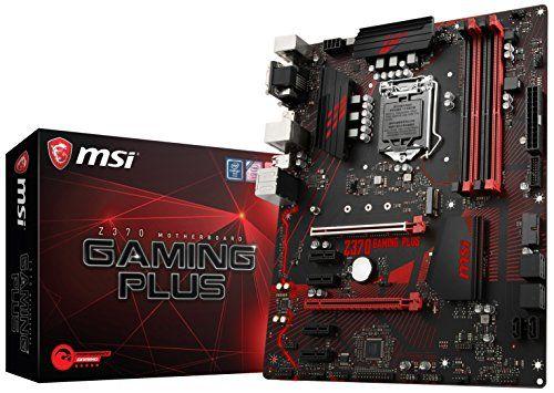 Msi Z370 Gaming Plus Cfx Atx Motherboard Msi Https Www Amazon Com Dp B075gsvhgp Ref Cm Sw R Pi Dp U X Itftabv40jpa5 Motherboard Best Computer Msi
