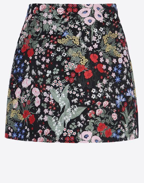 Valentino Skirt in Camugarden Brocade