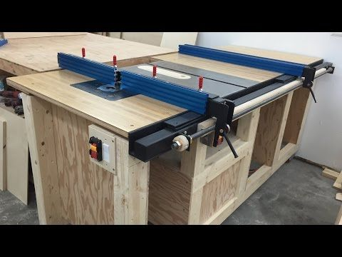 Homemade table saw with built in router and inverted jigsaw 3 in 1 homemade table saw with built in router and inverted jigsaw 3 in 1 youtube woodworking workshop pinterest homemade youtube and woodworking greentooth Image collections
