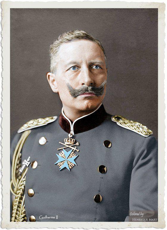 Guilherme II da Alemanha https://www.facebook.com/centenariogg.oficial/