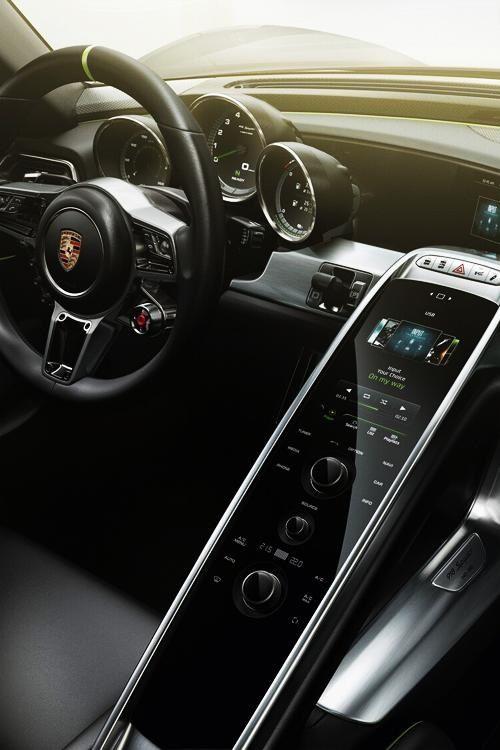 Porsche design interior