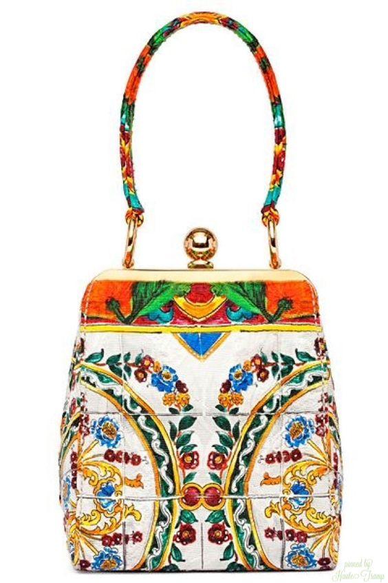 Dolce&Gabbana - Flower Bag - 2014 Pre-Fall