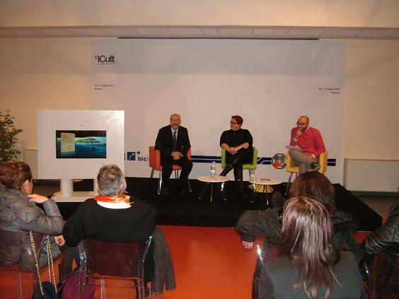 """15 novembre 2013 - Presentazione di """"Diario di donne"""" di Priscilla Murli (Edizioni Archeoares 2013) presso l'incubatore ICult di Bic Lazio (Via Faul, Viterbo).  http://www.edizioniarcheoares.it/diariodidonne"""