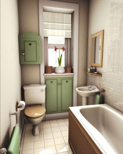 Small bathroom   | 3D rendered by Iain Collins