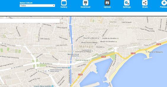 #Mapas #fotos #viajes picandmap, para incluir fotos dentro de mapas