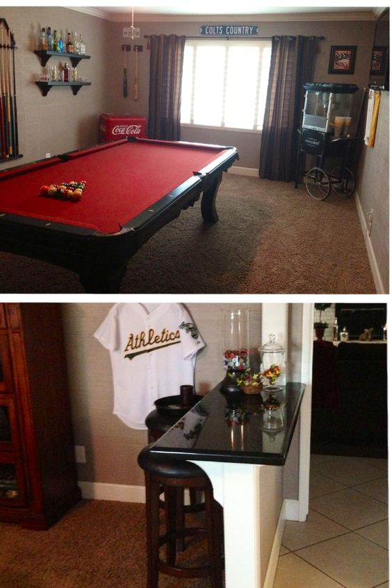 Turn That Unused Formal Living Room Into A Game Room
