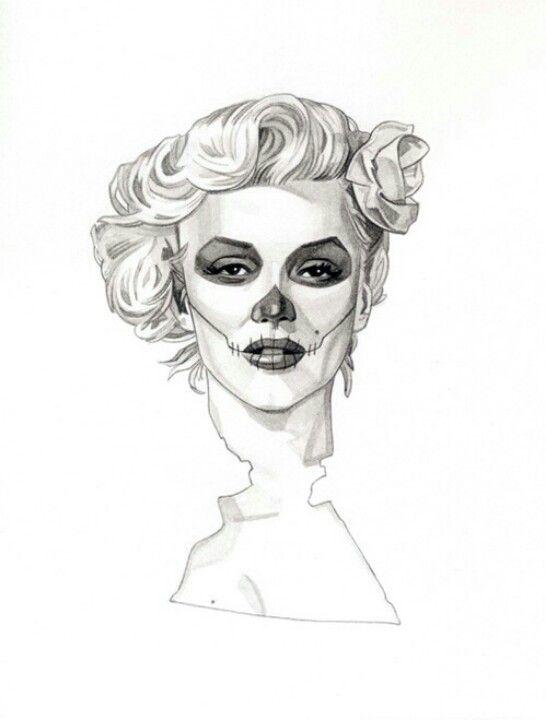 Dia de los muertos, Marilyn Monroe