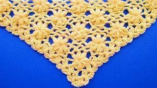 bufandas tejidas a crochet paso a paso en español - YouTube