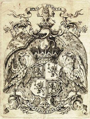 Ex Libris of Richard Maitland, PC, 4th Earl of Lauderdale