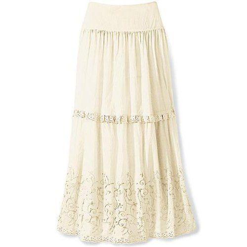 Beautiful Long Skirts Designs