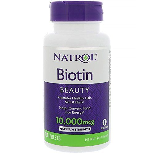 Hair Growth Ultimately Depends On Some Hormones Which Make The Hair Longer Stronger Healthier And Thicker And Even Natrol Biotin Biotin Best Hair Vitamins