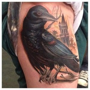 Coverup raven spike tv tattoo tattoo nightmare tattoo for Is tattoo nightmares still on