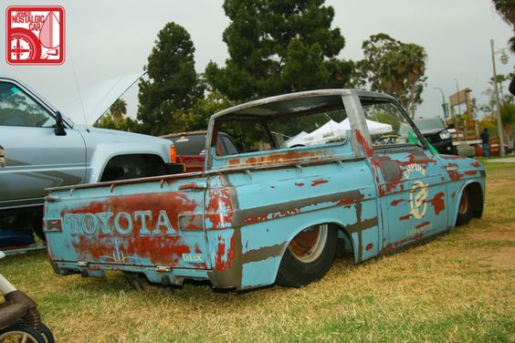 toyota hilux ratrod jdm ratrod style pinterest. Black Bedroom Furniture Sets. Home Design Ideas