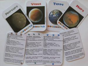 Petites cartes pour astronautes amateurs