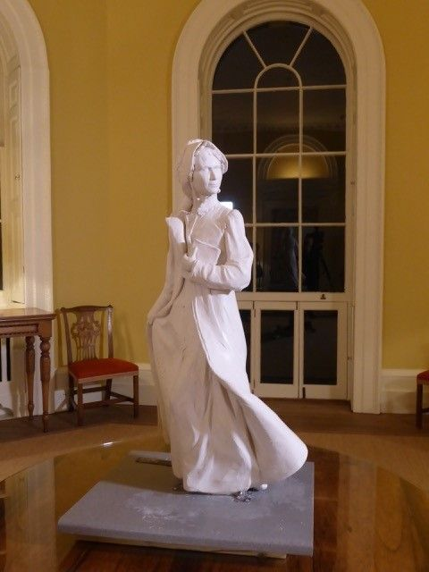 A MAQUETTE of the first ever statue of Jane Austen has been revealed, to help celebrate the 200th anniversary of her death.