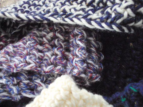 Comfty Chunky Crocheted Cowl/Infinity Scarf by tracyleeilg1318