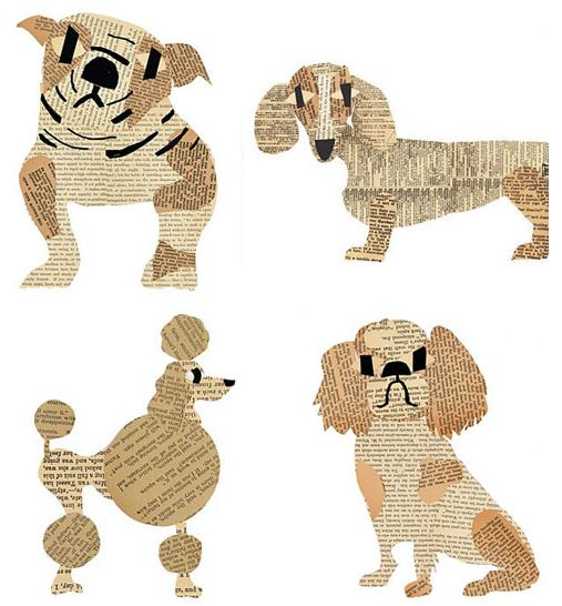 dog artist with a mustache - Google Search: