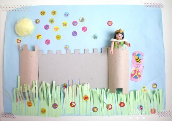 Manualidades con rollos de papel parte ii manualidades - Manualidades con rollos de papel ...