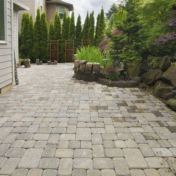1000 Ideas About Inexpensive Patio On Pinterest Pavers