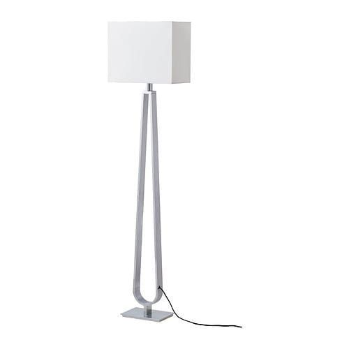 KLABB Floor lamp with LED bulb IKEA As the light can be