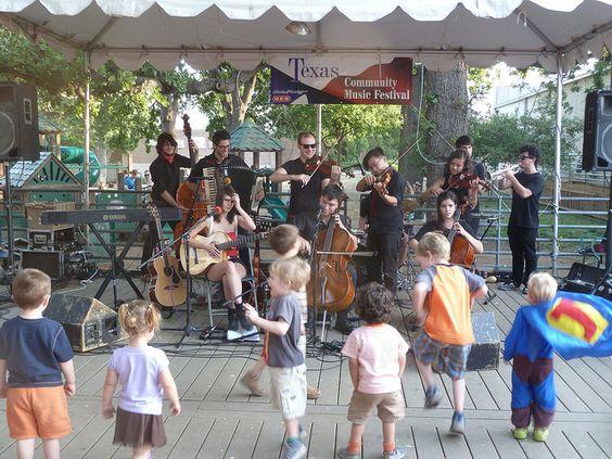 Live music at Austin's Central Market