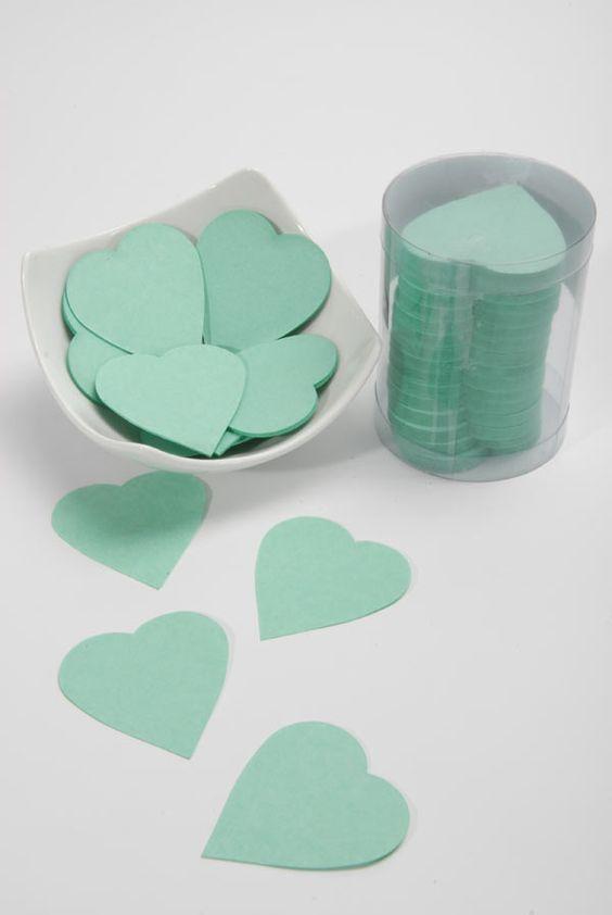 Confettis  Vert d'Eau
