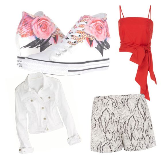 """""""The Road Trip Outfit"""" by naqikhan on Polyvore featuring MDS Stripes, Haute Hippie, American Eagle Outfitters and Converse"""